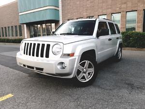 Jeep Patriot 2007 4x4 bas seulement 105000km
