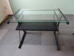 Glass top computer desks for sale (4 available)