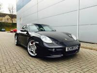 2006 56 reg Porsche Cayman 3.4 SCoupe + Black + Black Leather + Nice Spec