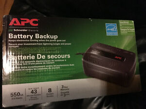 APC Battery Backup brand new In box do not need paid $120