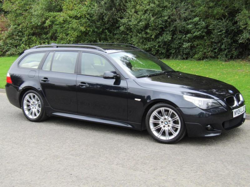 2005 BMW 5 Series 530D M Sport Touring Auto Diesel estate 220bhp ...