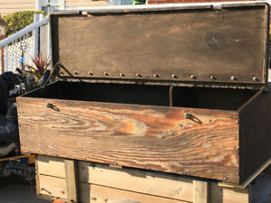 Wooden Tool Box for Truck box
