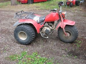 Great Little HONDA TRIKE ready to go hunting