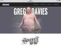 2x Tickets for Greg Davies @ Cardiff Motorpoint 24th November 2017