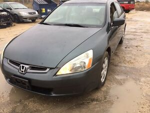 2005 Honda Accord EX  fully loaded clean title only $5000