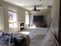 Popcorn/ Stucco ceiling removing and Painting!