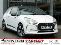 2017 DS Automobiles DS 3 1.2 PureTech Chic 3dr Hatchback Petrol Manual