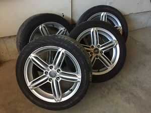 Selling my Audi Tires and Rims