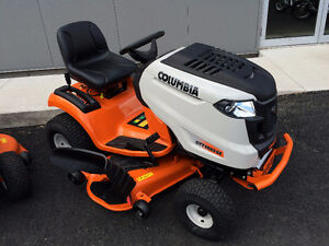 """Columbia lawntractor 50"""" cut, 0% financing and 3yrs warranty!"""