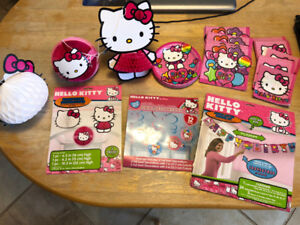 Hello Kitty Birthday Party Supplies