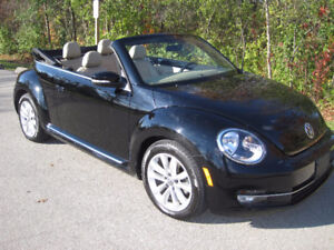 "2013 Volkswagen BEETLE ""HIGHLINE"" CONVERTIBLE - 31K! GPS/LEATHER"