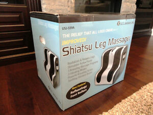 Brand New US Jaclean Shiatsu Full Leg Massager With Heat Kitchener / Waterloo Kitchener Area image 1