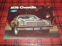 BROCHURE AUTO CHEVELLE ( 1976 )