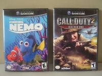 Lot de 5 jeux pour Game Cube