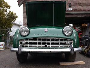 1958 Triumph TR3 MISSISSAUGA $12,500