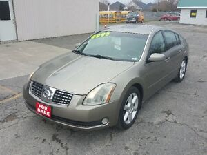NISSAN MAXIMA 3.5 SE *** FULLY LOADED *** CERTIFIED $4995