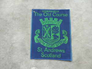 OLD COURSE GOLF TOWEL FROM ST.ANDREWS
