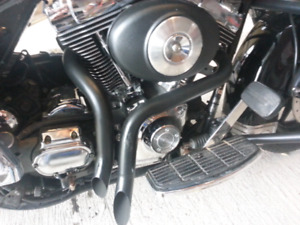 "1.75"" drag pipe  harley"