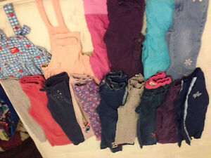 Huge lot of 3T girls clothes