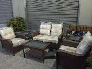 4 Pieces Wicker Outdoor Furniture Set-With Cushions Wantirna South Knox Area Preview