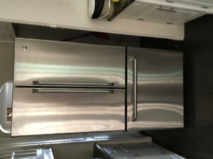 Stainless Steel Fridge. Excellent condition.