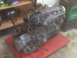 Honda civic D16Y7 1998 engine with auto transmission