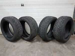 245/50 R18 Nokian winter tires with studs REDUCED