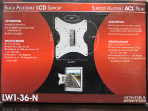 "~~~Brand New in Box Sonora LCD Wall Bracket up to 36"" TV"