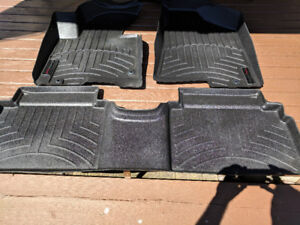 Weather Tech mats for Kia Sportage.