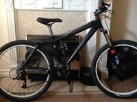Kona full suspension bike