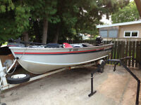 16.5 foot Alumacraft Lunker LTD