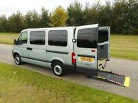 2010 Renault Master 2.5 Dci WHEELCHAIR DISABLED ACCESSIBLE ADAPTED VEHICLE WAV
