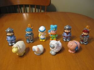 LITTLE PEOPLE AND ANIMALS LOT