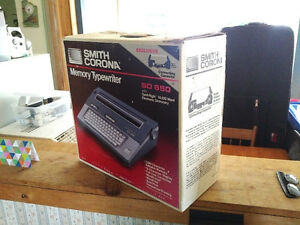 Smith Corona SD 650 Typewriter