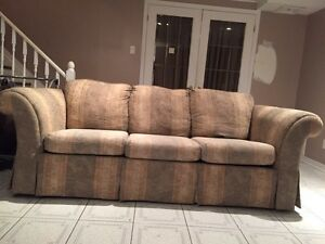 Couch / sofa, loveseat, chair and ottoman (4 piece set) Gatineau Ottawa / Gatineau Area image 2