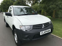 2014 64 MITSUBISHI L200 2.5DI-D SINGLE CAB 4LIFE 4X4 1 OWNER ONLY 20,000 MILES