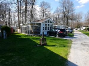 Maison de parc lac Champlain, Vermont