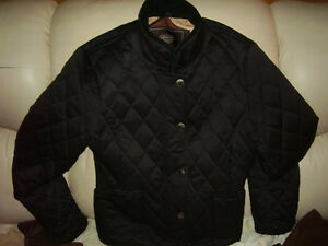 Coach Quilted Jacket Black Reversible