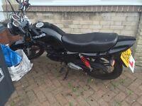 Sinnis max 2 125cc learner legal geared motorbike
