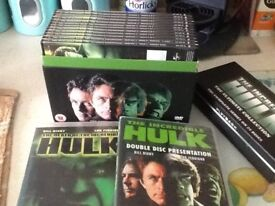 The complete series of The Incredible Hulk