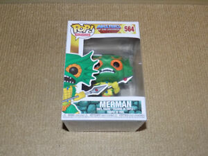 FUNKO, POP, MERMAN, MASTERS OF THE UNIVERSE, TELEVISION #564, NM