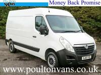 2015 (15) VAUXHALL MOVANO F3300 L2 H2 MWB MEDIUM ROOF PANEL VAN, Medium