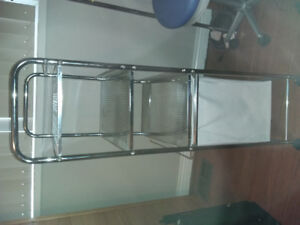 Laundry Hamper with Shelves Unit