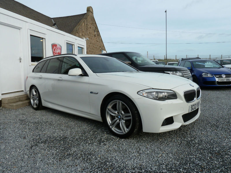2012 12 bmw 520d m sport touring 2 0td auto 184 bhp in elgin moray gumtree. Black Bedroom Furniture Sets. Home Design Ideas
