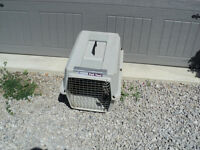 "LARGE PET CARRIER 19"" X 17"" High X 26"" Long CALLS ONLY PLEASE"