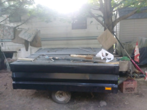 6x6 trailer with top