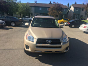 LOCAL 2009 TOYOTA RAV4, 4WD FOR SALE.