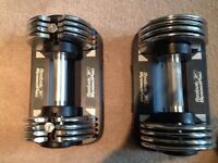 Reebok speedpac  dumb bells