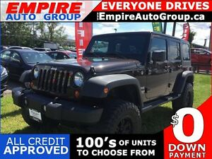 2013 JEEP WRANGLER UNLIMITED SPORT * 4WD * HARD TOP * LOW KM