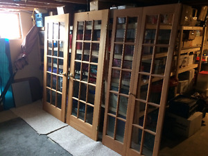 FOR SALE – MATCHING FRENCH AND BIFOLD DOORS